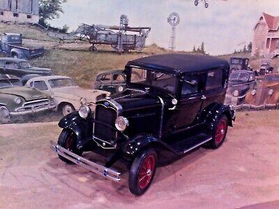 1:18 Scale Diecast, Motor City Classics, Black, 1931 Ford model A Tudor