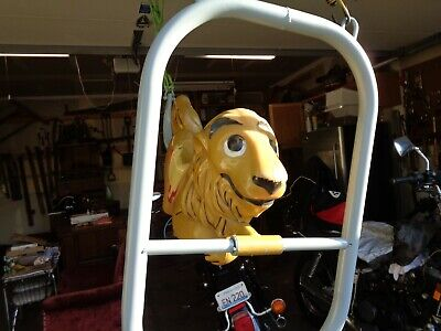 Unbranded Resin Fiberglass Lion Like Saddle Mates Vintage Swing Playground Ride  for sale  Aurora