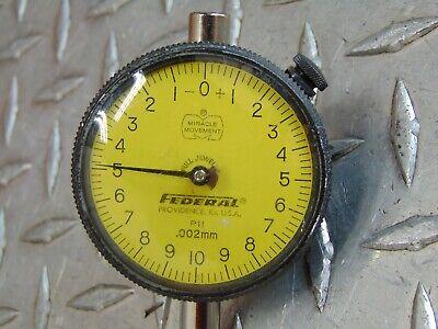Federal P11 Dial Indicator Gauge .002mm