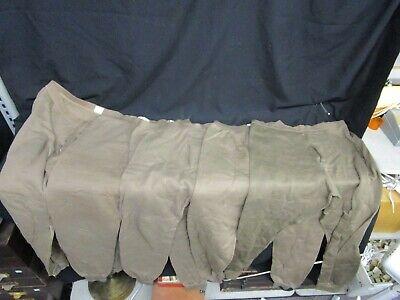 5 - Cold Weather Worn Pants 100% Polypropylene U.S. Military Medium & Small