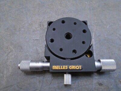 Melles Griot Linear Translation Stage Micrometer