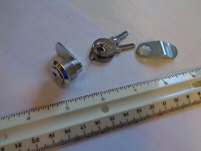 Keyed Cam Lock With Key 34 Through Hole 58 Straight Cam Latch
