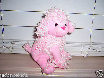 Ty Beanie Babies 2.0 Plush DUCHESS  Pink Dog Poodle