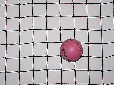 "10/' x 10/'   HOCKEY  BARRIER  BACKSTOP  NETTING  1 1//2/""  #15 TWINE TEST 160 LBS"