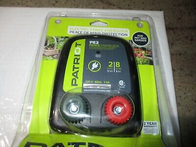 Patriot Pe2 Electric Fence Energizer Peace Of Mind Protection - Used