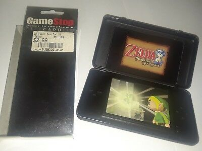 NINTENDO DS GAME STOP Power to the Player GIFT CARD TIN, ZEL