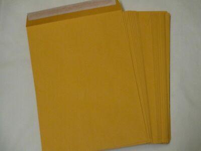 Catalog Mailing Envelopes Peel Seal 9x12 Inch Brown Kraft 250-pack