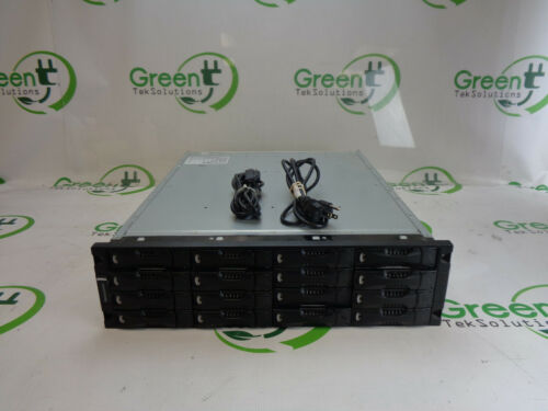 Dell EqualLogic PS5000E ISCSI SAN Storage System w/ 16x Trays, 2x Controllers