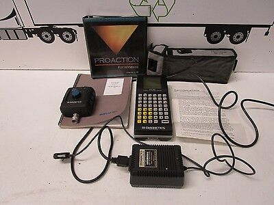 DIAGNETICS PC1000 FLUID ANALYSIS MEASUREMENT PORTABLE CONDITION MONITOR - USED