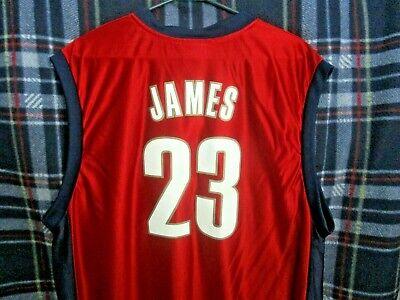 LeBRON JAMES #23 Jersey - NBA Cleveland Cavaliers - Mens XL