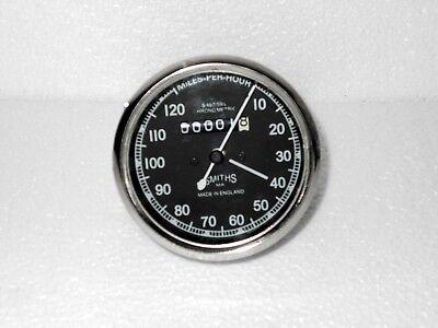 Speedometer Royal Enfield Motorcycle 0 120 MPH Black
