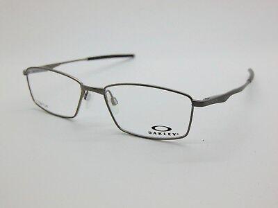 NEW OAKLEY LIMIT SWITCH OX5121-0353 Satin Brushed Chrome 53mm Rx Eyeglasses