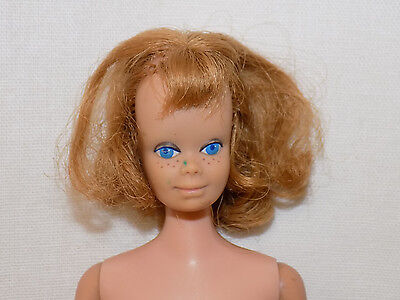 Vintage Midge Doll Barbie Friend Red/Blonde Hair Straight Leg 1963