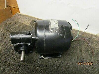 Bodine Nsi-54rl Gearmotor 401 Ratio 18hp 115v 1ph 43rpm 77lb-in.
