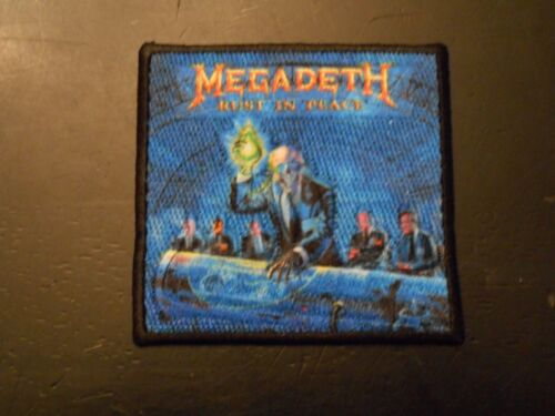 Megadeth - Rust In Piece - Embroidered Patch