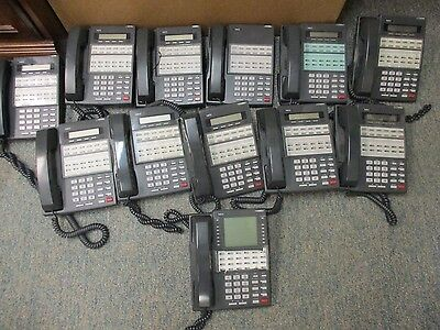 Nec Phone System Dx7na-48 12 Handsets