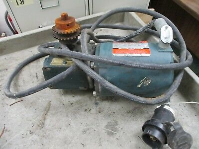 Reliance Electric Motor W Gear B77b9479s 12hp 1800rpm 230460v 2.41.2a Used