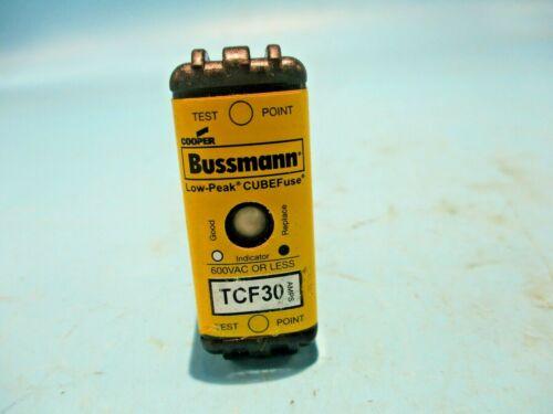 NEW BUSSMANN TCF30 CUBE FUSE 30A/AMP