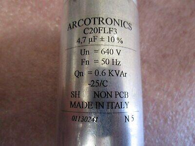 Arcotronics C20flf34470za0k Capacitor