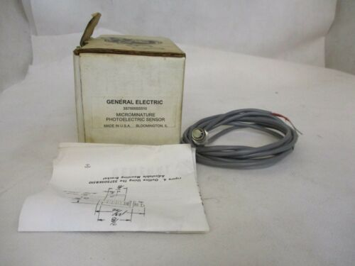 NEW GE GENERAL ELECTRIC 3S7505SS510 MICRO MINIATURE PHOTOELECTRIC SENSOR