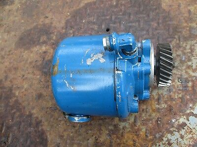 1974 Ford 8600 Tractor Power Steering Pump Free Shipping