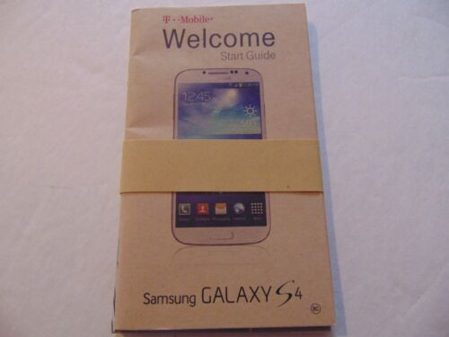 ORIGINAL - Hard to Find!!  Unused - Samsung Galaxy S4 Owners Manual