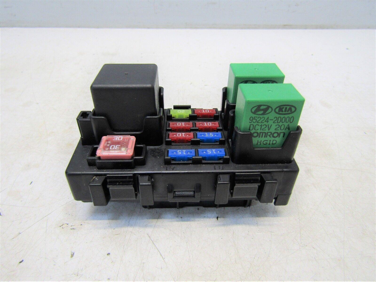 Kia Sportage Mk3 2010 13 Fuse Box Relay 16l 16v Petrol G4fd 91951 Astra 1 6 2s000 5617