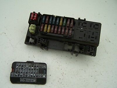 Proton Impian Fuse box, relay box (2001-2008)
