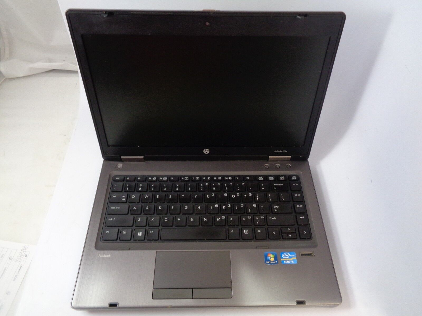 "HP ProBook 6470B 14"" i5-3340m 2.7GHz 8GB RAM 320GB HDD Windows 7 Professional"