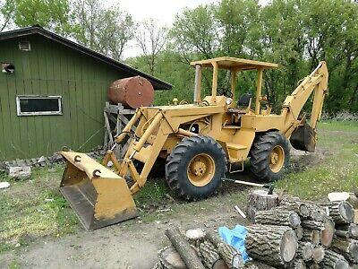 Elwood Manufacturing 4 X 4 Ford Loader Backhoe Tractor