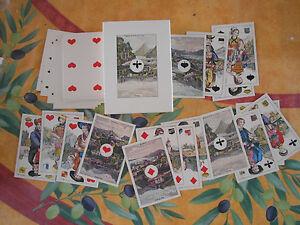 CL Wüst Schaffhauser Spielkarten Ansichten der Schweiz carte poker Svizzera card - Italia - L'oggetto può essere restituito - Italia