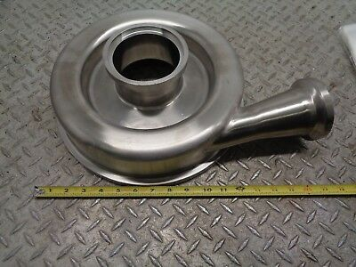 Stainless Steel 4x 3 Centrifugal Pump Housing Impeller End