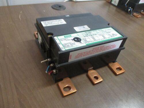 Asco 920 Remote Control Switch 0009200302003100 277V Coil 200A 3P Used
