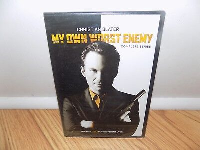 My Own Worst Enemy: The Complete Series (DVD, 2009) Christian Slater BRAND NEW!