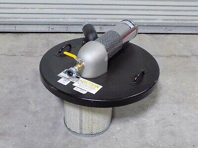 Guardair Pneumatic Wet Dry Vacuum Head For 55 Gal. Drums N551b