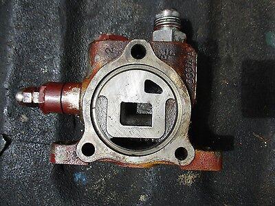 1977 Allis Chalmers 7000 Diesel Farm Tractor Hydraulic Pressure End Valve