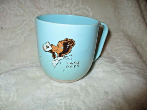 Vintage~Light Blue Tommee Tippee Cup~Untippable Cup~No Lid~Westland Plastics~