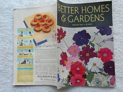 BETTER HOMES & GARDENS Magazine-FEBRUARY.1935-NAT LITTLE COVER