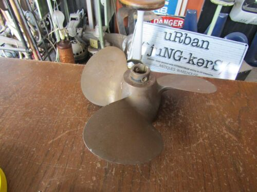 "Brass 3 Blade Propeller  by Michigan 9"" SMC 64 8 (3)"