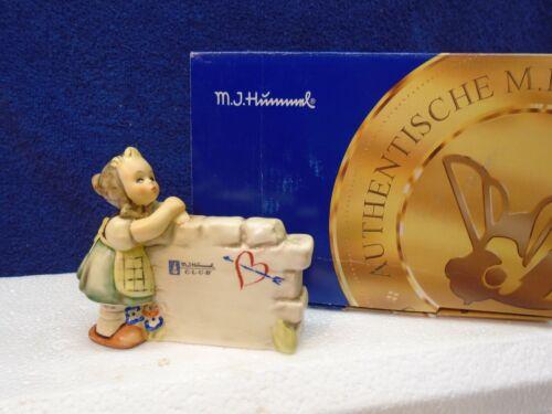 Hummel - Daydreamer display plaque #827, TMK7, mint in box