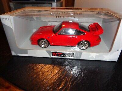1/18 UT MODELS AUTO ART PORSCHE 911 GT2 RED