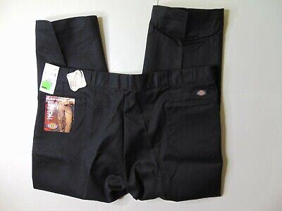 NEW Dickies Mens 40 x 32 874 Original Work Pants Flat Front Black Scotchgard 3M