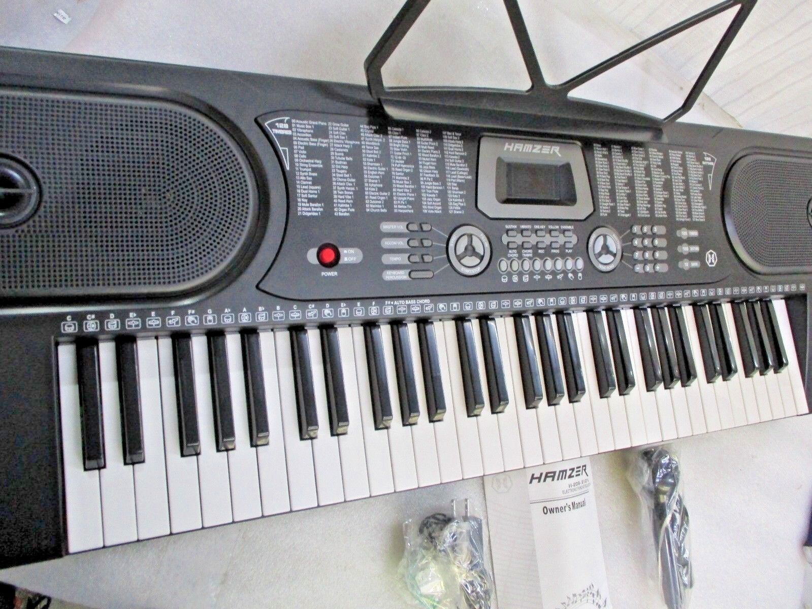 Hamzer 61-Key Digital Music Piano Keyboard