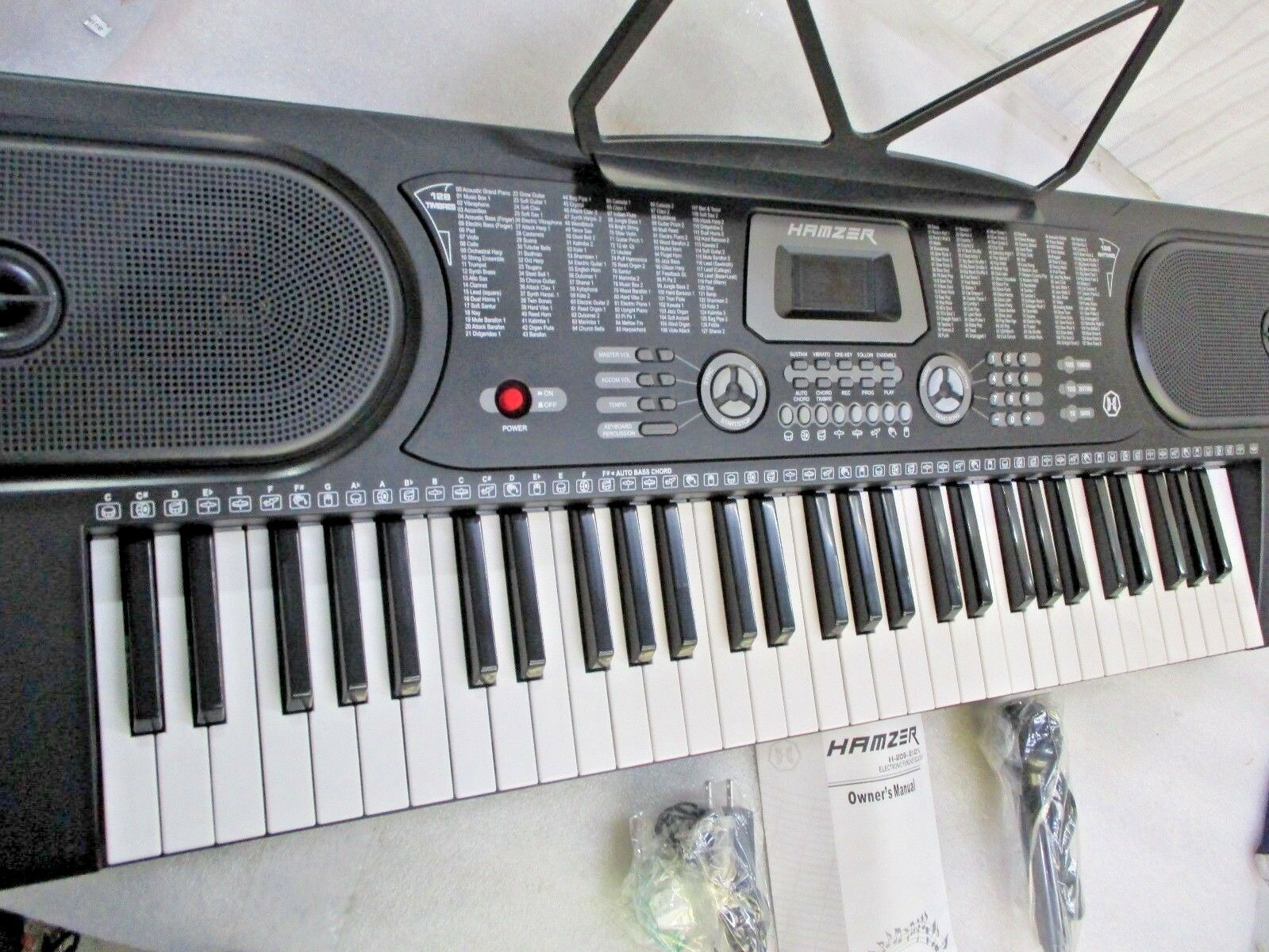 61 key digital music piano keyboard
