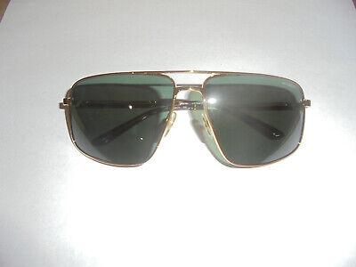 Arnette- Bacon- Sunglasses- Gold Color Frames- Green Lenses- New W/O Box- (Bacon Sunglasses)