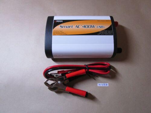 Wagan EL2003-5 SmartAC 400 Watt Continuous Power Inverter