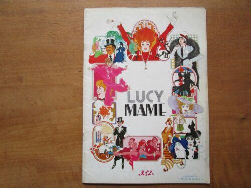 """Film """"Lucy Mame"""" Gene Saks Lucille Ball Bea Arthur MovieProgram Japanese ver F/S"""