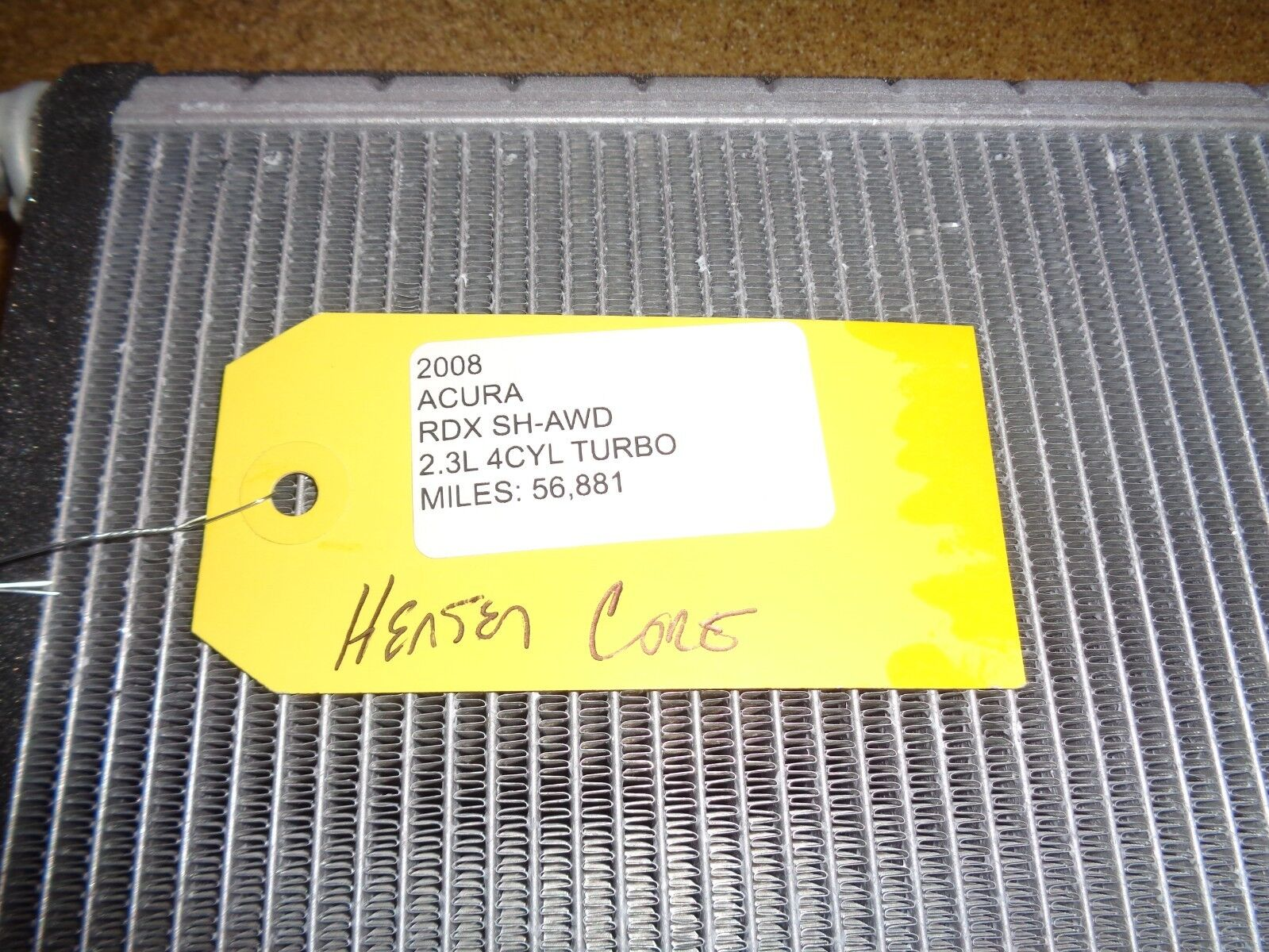 Used Acura Rdx Heater Parts For Sale 2011 Fuse Box Core Fits 07 08 09 10 2012 Oem B 1963
