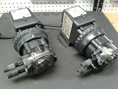 Stenner Pump Company Chemical Metering Pump 85mhp40 Ready To Go A Pair