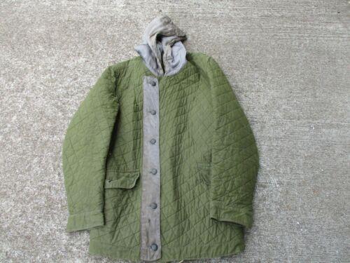 WWII German Late War Luftwaffe Quilted Winter Jacket